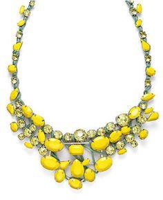 Bar III macy's statement necklace