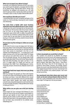 Lo'key Tha YG ft. Street Motivation Mag. special IE Edition www.lokeythayg.com
