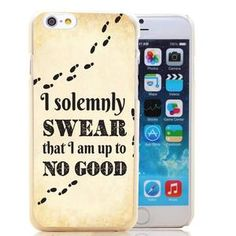 Harry Potter I Solemnly Swear I Am Up To No Good iPhone Case