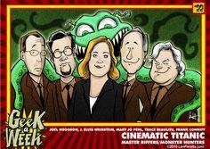 Episode 102  Geek a Week by Len Peralta
