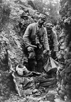 Soldados Franceses primera guerra mundial