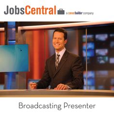 #100glamorousjobs #jobs #career  #broadcasting #jobscentral #careerbuilder A broadcast presenter is the public face-or voice-of programmes broadcast on television, radio and the internet.  They work on a variety of platforms including national, regional, satellite and cable television, online or radio, but their role is always to entertain and inform their audiences by presenting information and/or entertainment in an accessible and attractive way. Look for Your Ideal job…