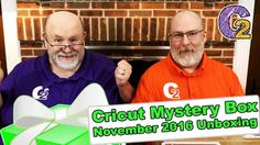"""Cricut Mystery Box - November 2016 Unboxing - http://www.craftsbytwo.com/cricut-mystery-box-november-2016-unboxing/  It's truly a mystery for the third offering of the Cricut Mystery Box this month! Join us for the unboxing and see what we received!  Visit our blog for easy shopping links, the best coupon code, and a list and of the contents if you don't want to watch the video!  Check out """"Cricut Mystery Box - November 2016 Unboxing"""" on the Crafts By Two website at: ht"""