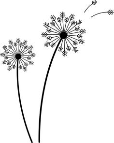 art dandelion - Google Search