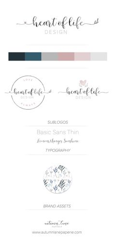 Autumn Lane Paperie - Business Branding - Brand Identity Idea - Brand Board - Brandboard - Graphic Design - Shabby Chic Rustic Design - Branding Package - Branding Ideas - Logo Ideas - Logo Design - Graphic Design - Creative Professional - Home Decor Logo - Design Logo - Printable Logo - Artist Logo