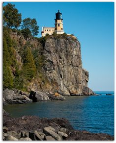Split Rock Lighthouse~home on the North Shore of Lake Superior~Minnesota at it's best!!
