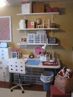 organizing scrapbook supplies - Google Search