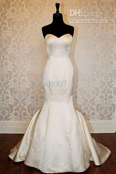 I want to display my wedding dress like this someday, in a dedicated corner in my walk-in closet the size of a room