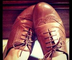 sapato oxford / oxford shoes -