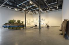 The Modern Institute / Exhibitions / Simon Starling: 'Cuttings (Supplement)', The Power Plant, Toronto, 2008 / Images