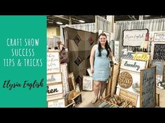 Craft Show Success Tips Make More Money, Make And Sell, How To Make, Sign Display, Display Ideas, Jobs In Art, Wholesale Craft Supplies, Old Lights, Work Site