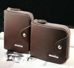 FREE SHIPPING Male zipper short design PU leather wallet vertical men's cowhide wallet purse card holder MQB25 #Affiliate