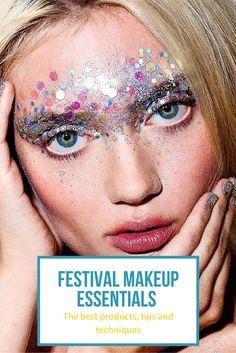 Festival Makeup Essentials, Tips & Ideas
