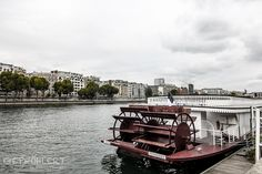 Boat on the Seine (Paris)