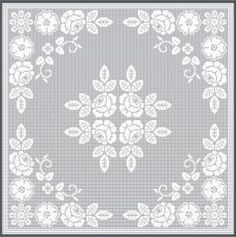 Free Filet Crochet Graph Patterns | How To Crochet » FILET CROCHET DESIGNS