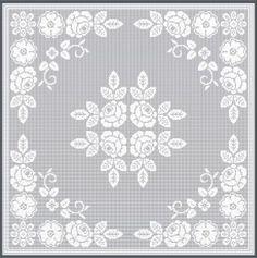 Free Filet Crochet Graph Patterns | How To Crochet » FILET CROCHET DESIGNS
