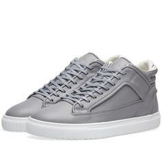 check deze ETQ. Mid Top 2 Sneaker - END. Exclusive (Grey)
