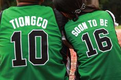 love it wanna do this for sure.....our customized jerseys for our save the date cards