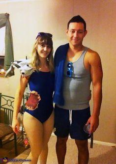 Shark Bait - 2013 Halloween Costume Contest via @costumeworks