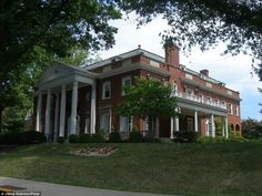 WEST VIRGINIA: The West Virginia Governor's Mansion in Charleston was designed by architect Walter Martens and features a ballroom