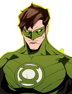 Green Lantern Hal Jordan by John Timms and colored by Skyler Anderton