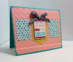Stampin' Fun with Diana: Stylin' Stampin' INKspiration Card Sketch Challenge: Love You to the Moon, Big Shot, Framlits, Stampin' Up, Diana Eichfeld