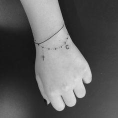 delicate bracelet tattoo - Google Search