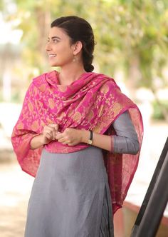 Party Wear Indian Dresses, Salwar Suits Party Wear, Punjabi Salwar Suits, Designer Punjabi Suits, Punjabi Dress, Indian Salwar Kameez, Nimrat Khaira Suits, Ladies Suit Design, Teen Girl Photography