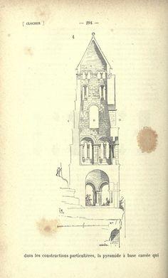 Dictionnaire raisonné de l'architecture françai... Construction, France, Taj Mahal, Rustic, 16th Century, Building, Retro, Farmhouse Style, Early French