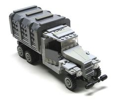 Lego WWII Truck