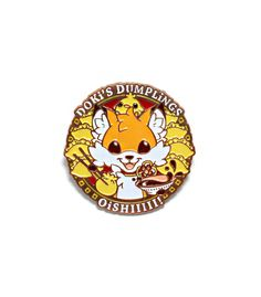 Silly li'l dumplin' fox, Doki is an energetic ball of fur that can't contain his joy for pastries! Dumpling-shaped chicks are his best friends, though sometimes