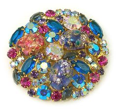 Juliana Easter egg pin $135 http://www.grannysjewelrybox.com/si1843.shtml
