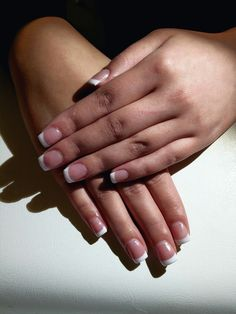 #nails #french #manicure #easy