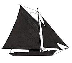 Profile of Sloop
