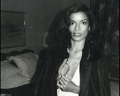 Human rights advocate and former actress Bianca Jagger. She met Mick Jagger at a party after a Rolling Stones concert in France in September 1970 and married him a year later