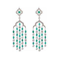 Axenoff Jewellery » Earrings «The Garden of Love»