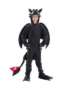 DYLAN WANT THIS COSTUME:How to Train Your Dragon 2 Toothless Child Costume  2014