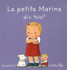 """La petita Marina diu """"No! No em vull vestir!"""" """"No! No vull donar la mà a la mama!""""... Però finalment la Marina es vesteix i està a punt per anar a jugar. La Marina li dóna una mà a la mama i l'altra al xaiet, i van tots junts pel carrer. Dir """"Sí!"""" no sembla tan dolent, després de tot."""