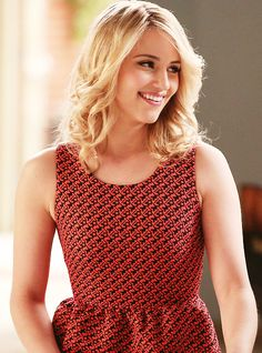 "Hello. My name is Quinn Fabray and I am 17 years old. I am looking forward for the cheer leading tryouts, I love cheer leading. It's my life. I've been captain cheerleader before in my old school but I must do it again. Anyways ""nice"" to meet you. Wow, I'm such a queen bee. *Hair Flip*"