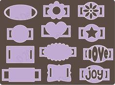 Ribbon Slides--this dosn't have a link. I'm just pinning to remember to make some.