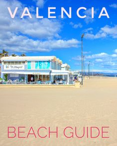 In this beach guide, we have summarized the 7 most beautiful beaches in Valencia, which are great for a visit during a city break. Additionally, we provide some wonderful pictures and we give useful tips for recommended accommodations in an optimal location to town and beach. Valencia Beach, Wonderful Picture, Most Beautiful Beaches, City Break, Europe, Water, Pictures, Travel, Outdoor