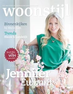 Woonstijl magazine cover september 2012