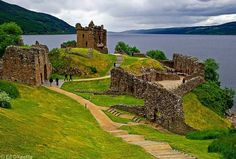 Urquhart Castle  Loch Ness - I have recurring dreams about this place...