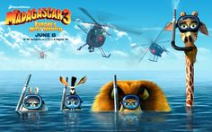 Madagascar 3 2012 Movie Wallpaper for Android - Cartoons Wallpapers