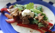 These Quick pork fajitas are fast, simple and tasty and you can have them on your table in less than 20 minutes.