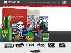 #Geek Fuel - Join Today and Get $3 off your first order.
