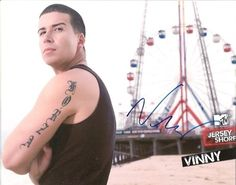 Vinny Jersey Shore stor dildo