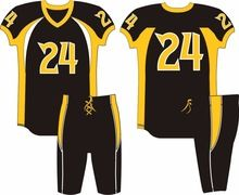 American Football uniforms, American Football uniforms direct from DHIRK SPORTSWEAR in Pakistan