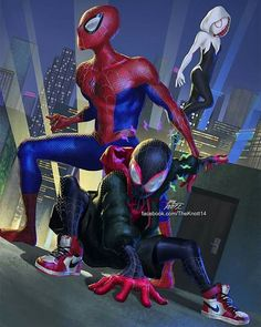 What Spider-Man movie are you more excited to see? Venom or Spider-Man: Into the spider verse? Spiderman Suits, Spiderman Spider, Spider Gwen, Amazing Spiderman, Spiderman Movie, Hq Marvel, Marvel Films, Marvel Dc Comics, Marvel Heroes