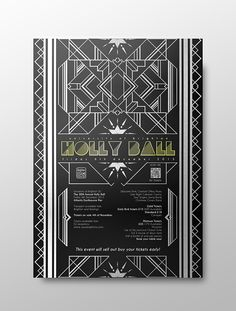 University of Brighton Holly Ball 2013 on Behance